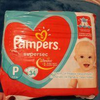 Fralda Pampers Supersec P -  - PAMPERS