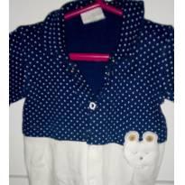 Macacão baby fashion - Recém Nascido - Baby fashion