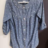 Camisa Feminina Carters - 5 anos - Carter`s