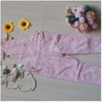 Jardineira Rosa tamanho 3 - 3 anos - Turma da Vivi