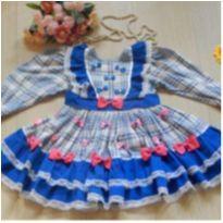 Vestido Maravilhoso - 4 anos - Artesanal