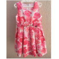 Vestido de Rosas - 4 anos - Pupi
