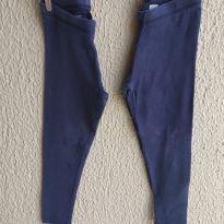 2 Calças legging Tommy Hilfiger azul - 4 anos - Tommy Hilfiger