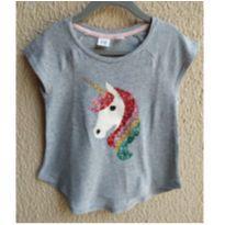 camiseta unicórnio - 4 anos - GAP