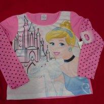 Camiseta Princesas - 8 anos - Disney