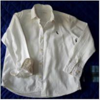 Camisa Branca reserva mini - 8 anos - Reserva mini