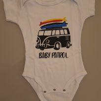 Body Baby Patrol - 6 a 9 meses - Marca não registrada