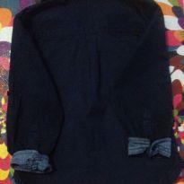 Camisa Social linda na cor Azul Marinho - 3 anos - Riachuelo