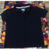 Linda Camisa Polo Azul Marinho - 3 anos - Riachuelo