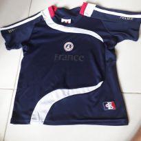 Camisa de futebol oficial seminova tamanho 6 anos - 6 anos - Adidas e Nike