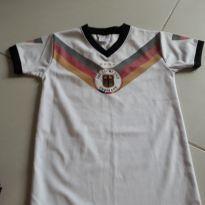Camisa de futebol oficial seminova tamanho 6 anos - 6 anos - Adidas