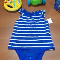 Body gap listrado - 6 meses - Baby Gap