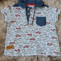 Camiseta - 6 a 9 meses - Teddy Boom