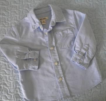 Calça jeans fashion e camisa manga longa- Cherokee e Place- 18 meses - 18 meses - Cherokee e Place