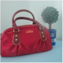Bolsa vermelha Victoria`s Secret 20cm x 28cm -  - Victoria`s Secret