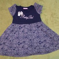 Vestido Azul Pretty Girl - 3 anos - Alakazoo!