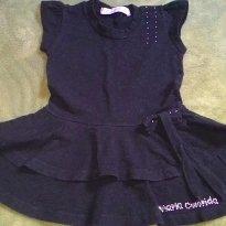 Vestido Pretinho Basico - 2 anos - Maria Colorida