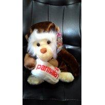 RARA Pelucia Mamiferos Parmalat - MACACO -  - Parmalat