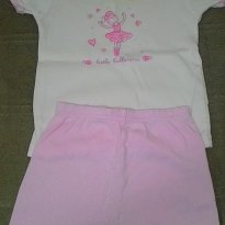 Pijama Bailarina - 2 anos - Carter`s