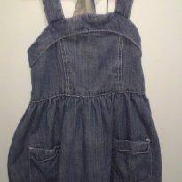 Vestido Jeans - 4 anos - PAPER DENIN CLOTH