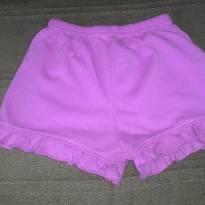Short Pijama - 12 a 18 meses - Não informada
