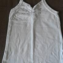 Blusinha de Verão Branca - 5 anos - Place