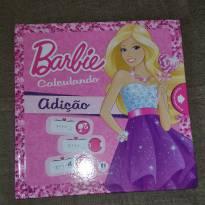 Livro Barbie Calculando - Adição -  - Ciranda Cultural