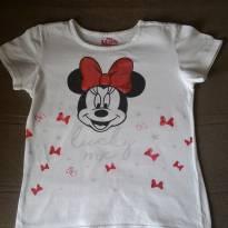Camiseta Minnie Mouse - 7 anos - Disney