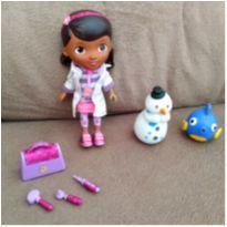 Doutora Brinquedos e Personagens Barulhento e Gelinho -  - Importada