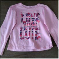 Camiseta Love to be cute - 8 anos - marisa