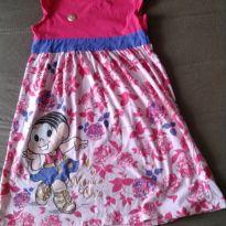 Vestido da Monica - 8 anos - TURMA DA MONICA