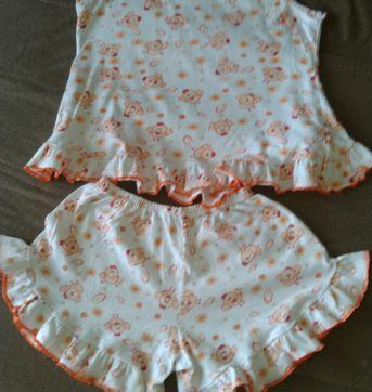 Pijama Fresquinho para Verao - 7 anos - Luna