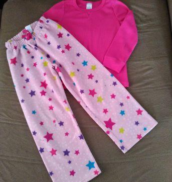 Pijama Estrelas - 5 anos - The Children`s Place