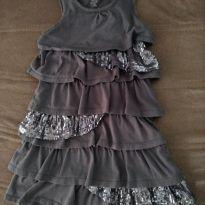 Vestido de Festa com Paete - 5 anos - Est. 1989