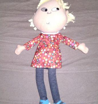 Boneca Lola da série Charlie e Lola - Sem faixa etaria - Long Jump