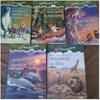 Livros Coleção a Casa da Arvore Magica - 04 livros -  - Farol