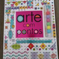 Livro arte com pontos, para usar a criatividade brincando -  - Ciranda Cultural