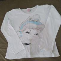 Camiseta Manga Longa Cinderela