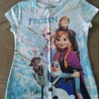 Camiseta Frozen - 6 anos - Disney