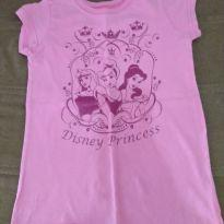 Camiseta Rosa Disney Princess - 3 anos - Disney