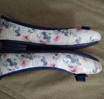Sapatilha Klin Azul Floral - 29 - Klin