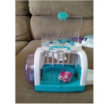 Trilha e Casinha com Hamsters Importado da Little Live Pets - Sem faixa etaria - Little live pets