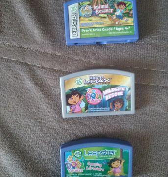 Cartucho Leapster 2 - Dora Aventureira - Sem faixa etaria - Leap frog