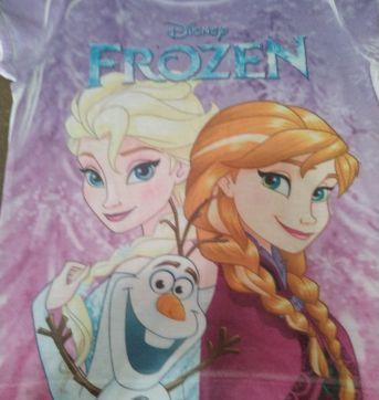Camiseta Frozen - 8 anos - Disney