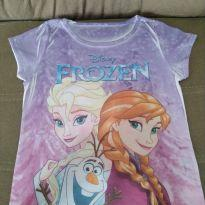 Camiseta Frozen - 8 anos - Disney