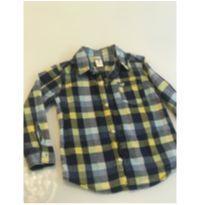 Camisa Carters xadrez - 4 anos - Carter`s