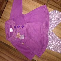 Conjunto luxo roxo - 6 meses - Fakini