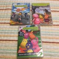 Bacakardigans - 3 DVDS - Sem faixa etaria - Backardigans