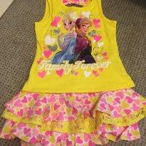 Conjunto Camiseta + short saia - 6 anos - Disney