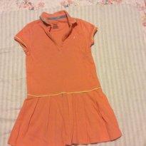 Vestido Laranja NÁUTICA - 5 anos - Nautica
